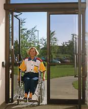 handicap accessible automated door